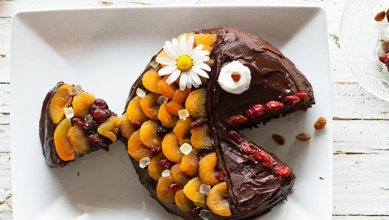 Najboljša veganska čokoladna torta