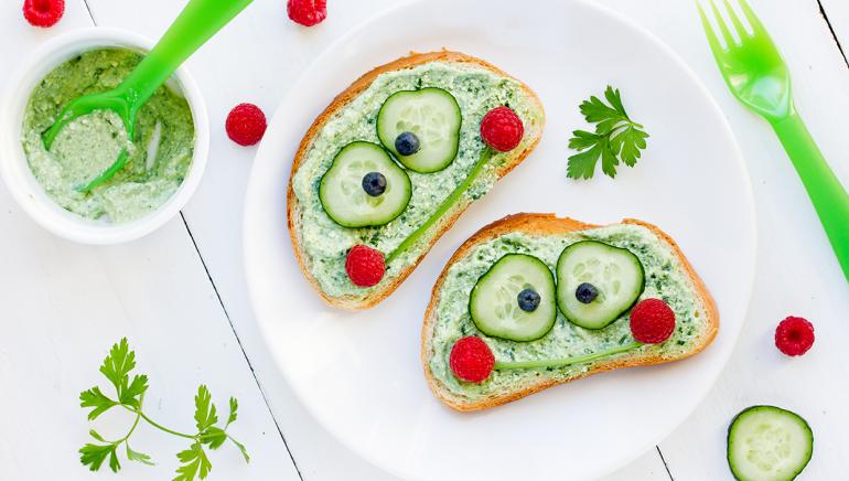 10 prikupnih sendvičev za otroke
