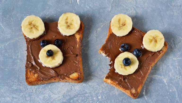 Čoko-banana namaz iz samo 2 sestavin