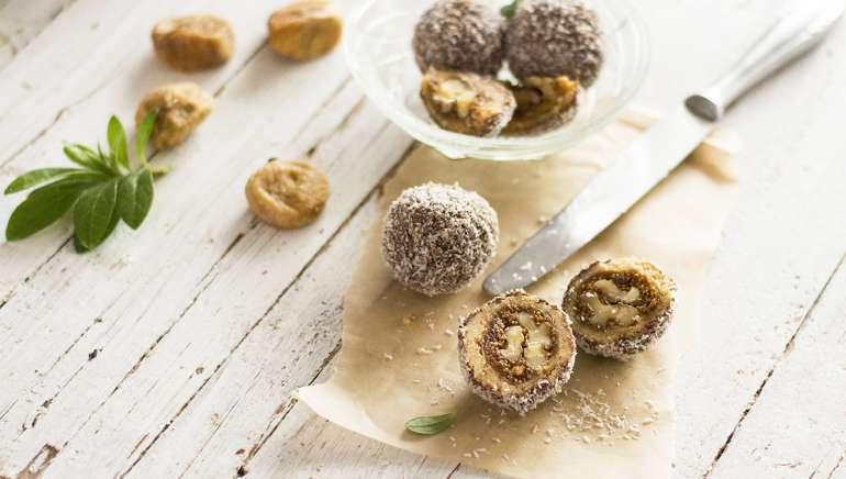 Figove kroglice z orehi