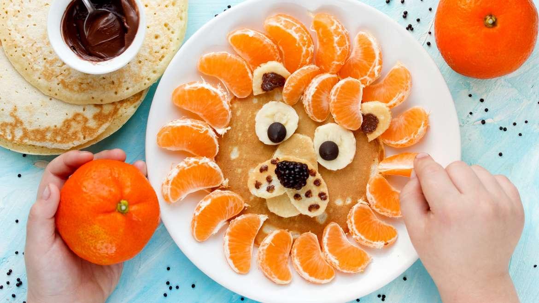 10 zabavih idej za otroške palačinke v obliki živali