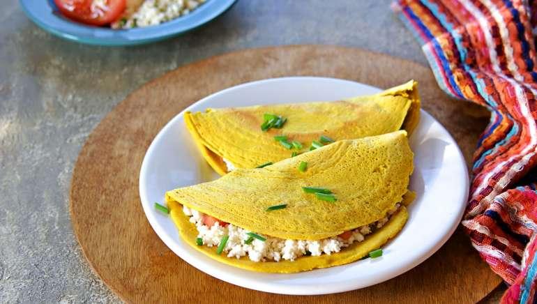Brezglutenske tortilje iz samo 2 sestavin