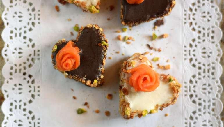 Mini presne korenčkove tortice