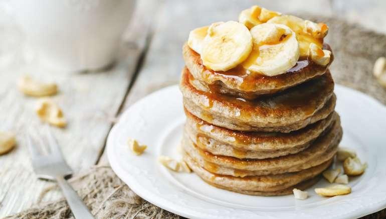 Bananine palačinke iz treh sestavin