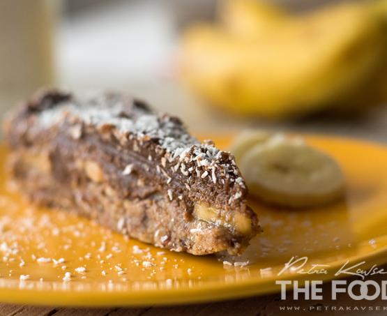 Bananino čokoladna presna tortica