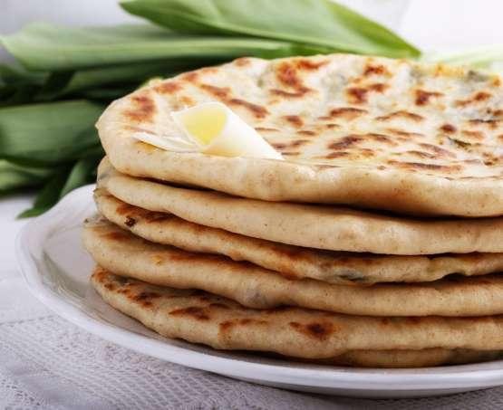 Jogurtov ploščati kruh iz ponve